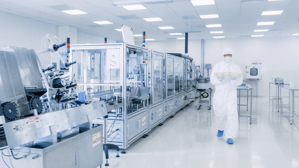 linia produkcyjna farmaceutyków